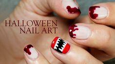 Nail art de Halloween paso a paso, ¡terrorífico!
