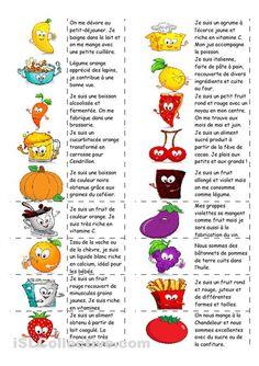 Vocabulaire des fruits et des l gumes ecole - Liste fruits exotiques avec photos ...