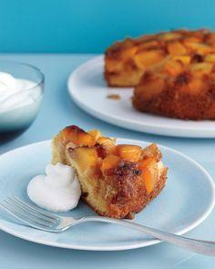 Nectarine Upside-Down Cake Recipe