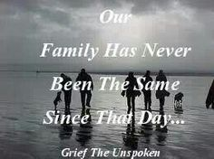Grief. Mom was the glue that held us together. We will never be the same.