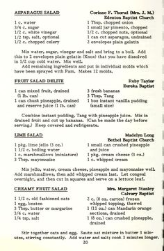 Jello Recipes, Old Recipes, Vintage Recipes, Cookbook Recipes, Seafood Recipes, Group Recipes, Jello Desserts, Cooking Recipes, Desert Salads