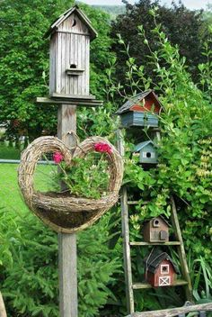 Creative Bird Houses