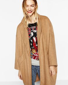 ZARA - WOMAN - OVERSIZED COAT