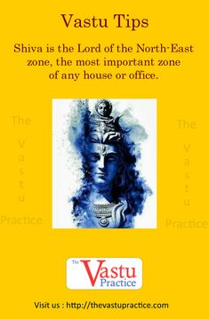 Vastu tip: Shiva is the Lord of the North-East zone, the most important zone of any house or office. He is Ishan, Omnipotent and Omnipresent. North-East is the zone of health, wealth and prosperity. Feng Shui And Vastu, Feng Shui Tips, Interior Design Tips, Interior Design Living Room, Indian House Plans, Feng Shui House, Pooja Room Design, Vastu Shastra, Puja Room