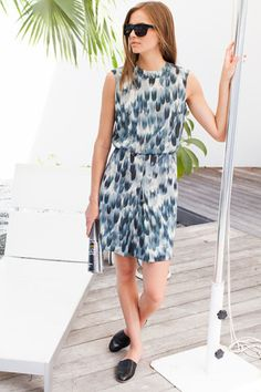 emerson fry OPEN BACK DRESS - BLUE FLAME - Google Search