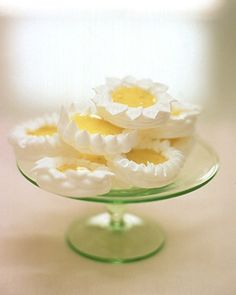 Lime Meringue Tarts (love that the meringue is the tart shell!)