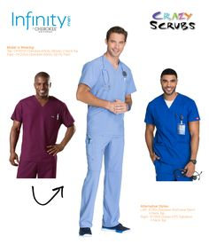 infinity uniforms. today\u0027s outfit of the day features infinity scrubs for men by cherokee uniforms! #ootd uniforms