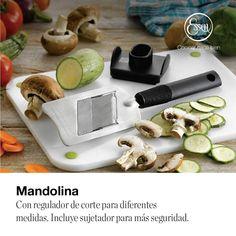 Productos únicos en tu casa Garlic Press, Snack, Visa, Ethnic Recipes, Food, Ideas, Products, Foods, Mandolin