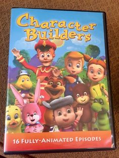 Character Builders DVD set for kids 16 fully animated episodes
