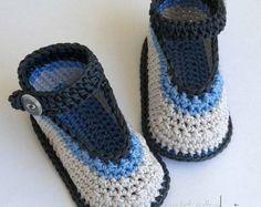 Ballerina baby booties Crochet baby booties Baby by HandmadeMaki