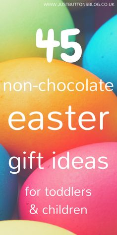 Free printable easter gift tags hop on over to get your freebies 45 non chocolate easter gift ideas for toddlerskids negle Images