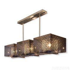 Подвесной светильник в стилистике ар-деко