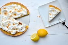 citroen meringue taart - lemon meringue pie