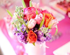 Baby Shower Floral Centerpiece