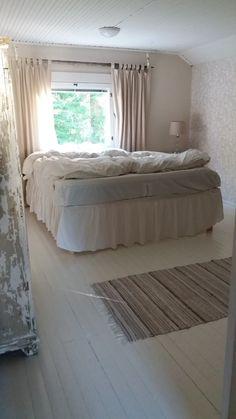 Rustiikkisen romanttinen makuuhuone