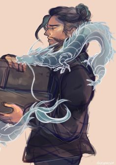 """alienspaceson: """"whAT IF hanzo buys two cakes one for each noodle dragon """" Overwatch Dragons, Overwatch Hanzo, Overwatch Comic, Overwatch Fan Art, Character Art, Character Design, Character Concept, Concept Art, Hanzo Dragon"""