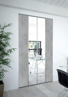 Vous avez besoin de changement dans votre chambre ? Des portes de placard pliantes avec des miroirs pourront apporter une touche moderne et tendance à votre intérieur. #lapeyre #lesavoirbienfaire #madeinfrance #home #instahome #portesdeplacard #portespliantes