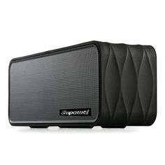 Introducing Simpowel V8 Portable Bluetooth Speaker with FM Radio Micro SD Mp3 Player NFC  Removable 18650 Liion Battery 9W45W X 2 wireless speaker with Passive Radiator  Black. Great product and follow us for more updates!