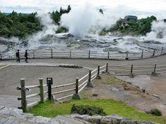 Whakarewarewa geothermal valley, Rotorua, New Zealand