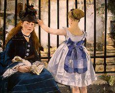 Edouard Manet -Manet the Railway -c(1832-1883)-Impressionism