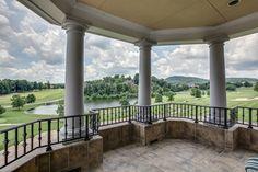 Balcony view (rear) - Brentwood, TN - 5 beds 5 baths 12,439 sqft