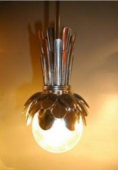 DIY kitchen pendant lights