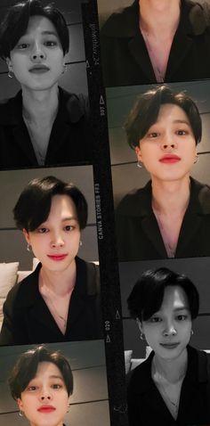Jimin Hair, Jimin Black Hair, Jungkook Selca, Foto Jungkook, Bts Wallpaper Desktop, Jimin Wallpaper, Wallpapers, Just Beautiful Men, Bts Korea