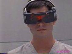 "Virtual Reality visor -- as seen in ""The Real World of Jasper Hunter""  http://nednote.com/realworld/"