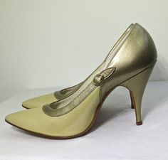 Vintage 1950s Patent Leather Heels