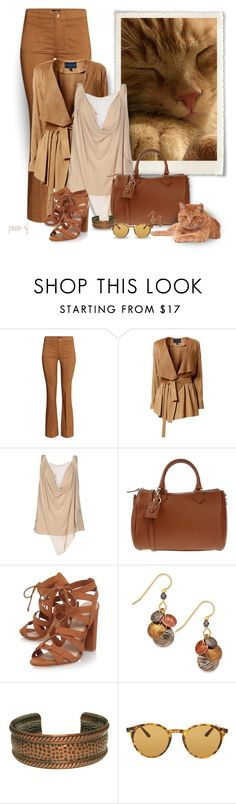 """""""Sleepy kitty..."""" by peace-rf ❤ liked on Polyvore featuring H&M, Helen McAlinden, ESCADA, Matilde Costa, Lipsy, Silver Forest, Carolina Glamour Collection and Ray-Ban"""