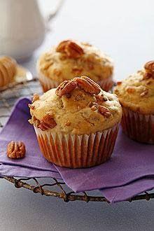 Chiquita Banana Honey Pecan Muffins