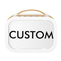 #createyourown #customize - #Custom Personalized Kid's Lunch Box Blank Template