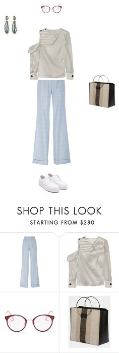 """""""*409"""" by marina-dedovich ❤ liked on Polyvore featuring Gabriela Hearst, Monse and Miu Miu"""