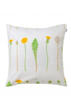voikukka cushion (dandelions!)