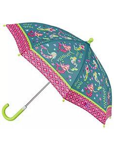 Car Reverse Folding Umbrella Inverted Umbrella with Nautical Coast Handdrawn Print