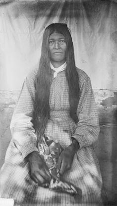 Walini - Cherokee - 1888 | historical | black & white portrait | native american indian | 1800s | history | www.republicofyou.com.au