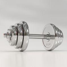 Solid 3D model of dumbbells. Rings: 2.0 kg, 3.2 kg, 4.6 kg Workout Room Home, Workout Rooms, At Home Workouts, Home Gym Equipment, No Equipment Workout, Weights Dumbbells, Dumbbell Workout, 3d Max, Weight Training