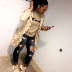45 Baddie Outfits That Will Make You Look Fantastic - Fashion New Trends Fashion Killa, Look Fashion, Urban Fashion, Teen Fashion, Autumn Fashion, Fashion Outfits, Fashion Trends, Swag Fashion, Fashion Bloggers
