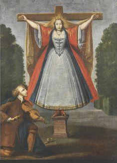 santa wilgefortis - Cerca con Google .......FEMALE CRUCIFIX.....................