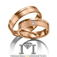 verighete MDV010pink #verighete #verighete5mm #verigheteaur #verigheteaurroz #magazinuldeverighete Couple Rings, Bangles, Bracelets, Rings For Men, Wedding Rings, Engagement Rings, Finger, Pink, Ornaments