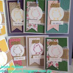 Oh Hello Stamp-A-Stacks! http://mollypossum.blogspot.com #JessieHolton #MollyPossumCreations #StampinUp #OhHello #CircleofSpring