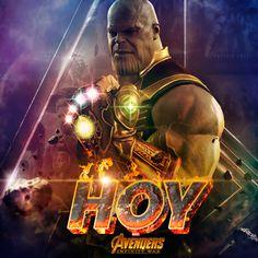 Avengers Infinity War por fin hoy !!!
