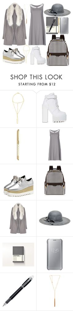 """""""Character Collection - Ghost"""" by xkaptain ❤ liked on Polyvore featuring Lana, Jeffrey Campbell, Kate Spade, Bioneuma, Henri Bendel, River Island, Betsey Johnson, Samsung, Montblanc and Ettika"""