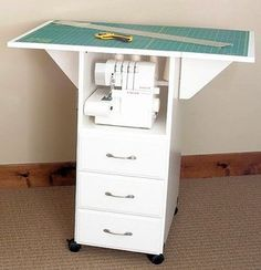 Great idea, storage & cutting table