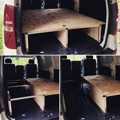 Completed a new style single to double bed convertible folding system today for a local client's Hyundai iLoad van. Pretty happy with it! Rock solid and plenty of storage space. #comfortablylost #customcampers #homeiswhereyouparkit #vanlife #stealthcamper #builtnotbought #hyundai #iload #camperconversion #campervan #DIY: