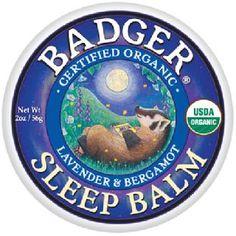 Badger Sleep Balm 2oz Tin $10.00