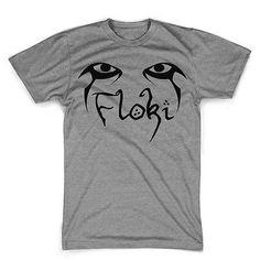 Floki Eyes fandom shirt Viking tee