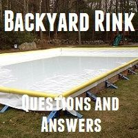 Building a backyard rink is a great way to play hockey at home with friends. Unfortunately you can't just toss a rink up, there is a right way to build a rink and many wrong ways. This article will help you learn how to properly build a rink suitable for Outdoor Hockey Rink, Backyard Hockey Rink, Backyard Ice Rink, Backyard Patio, Hockey Girlfriend, Hockey Boards, Hockey Room, Skating Rink, Figure Skating
