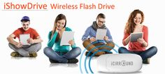 The smallest Wi-Fi USB storage ever