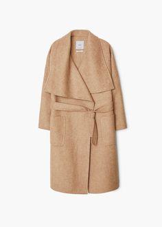 Handmade coat - Coats for Women | MANGO USA